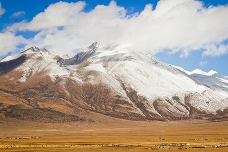 Plateau in Tibet Stock Photo
