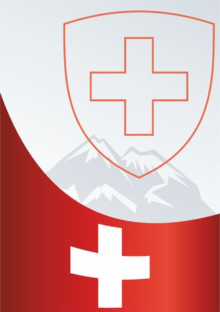For the award, an official document with the flag and symbol of the Swiss Confederation