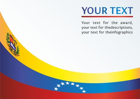 Official document with the flag of Bolivarian Republic of Venezuela