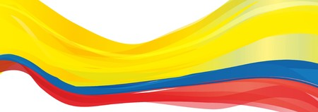 Flag of Colombia, yellow blue red Flag of the Republic of Colombia Stock fotó