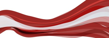 Flag of Latvia, red-and-white Flag of the Republic of Latvia Stock Photo