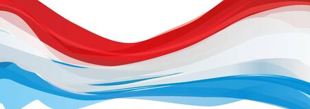 Flag of Luxembourg, red white blue Flag of the Grand Duchy of Luxembourg