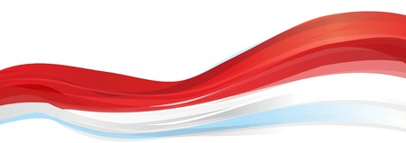 Flag of Indonesia, red-and-white Flag of the Republic of Indonesia 스톡 콘텐츠
