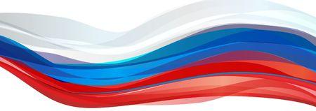 ロシア、白の旗青い赤い旗ロシア
