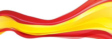 Variant flag of Spain, red flag of the Kingdom of Spain Stock Photo - 78157078
