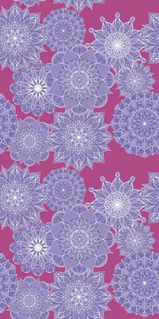 Seamless pattern with beautiful graphics flowers. For Wallpapers and design. EPS 10.