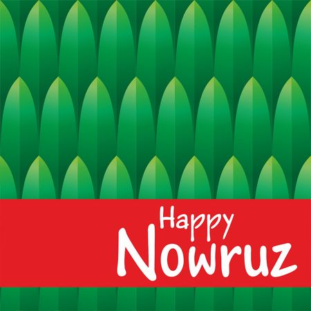 Holiday Nowruz, Happy Nowruz, the Persian New Year. vector illustration. Illustration