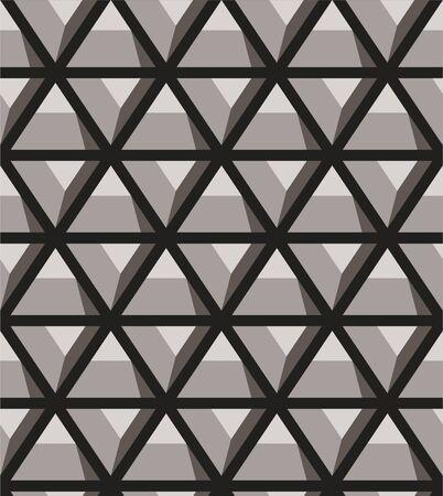 Grating, seamless lattice pattern. Vector background. 向量圖像