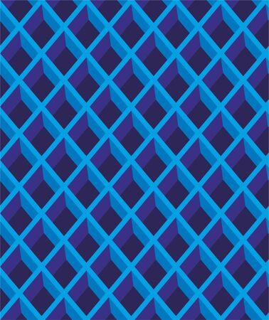 Diamond, seamless lattice pattern. Vector background.