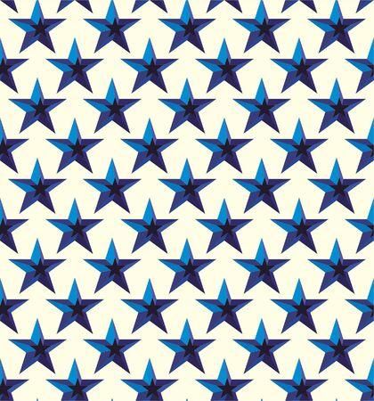 Stars, seamless lattice pattern. Vector background.