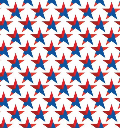 Star seamless lattice pattern background.