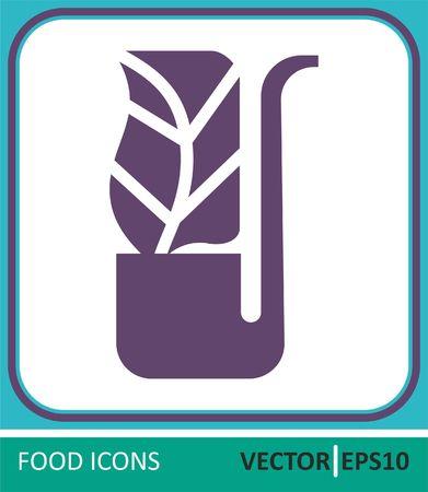 Tobacco, tobacco products. Vector Icon Ilustrace