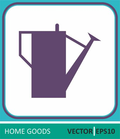 Watering can. Vector Icon. Simple vector illustration for web design. Ilustrace