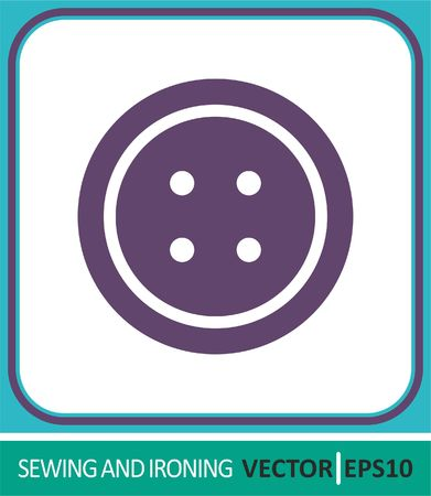Buttons, button closure. Vector Icon. Simple vector illustration for graphic and web design.