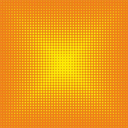 Halftone dots pattern, radiance. Seamless pattern. Background design.