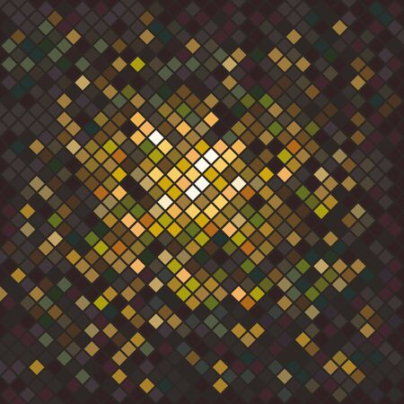 Shine Glitter, a pattern of bright pixels. Abstract texture, glamorous atmosphere. Vector image.