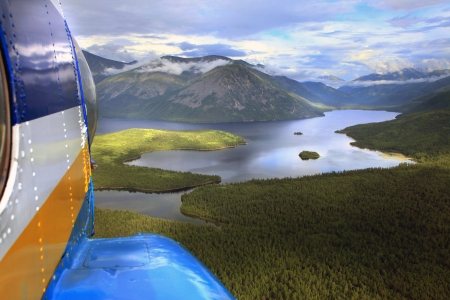 Lake Baikal, Lake Frolikha, mountains, clouds, travel, photo