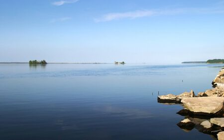 kama: a warm summer day on the river Kama