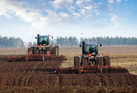 tillage: agricultural work in processing, cultivation of land in Russia