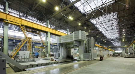plant for the production of parts for the huge super cars