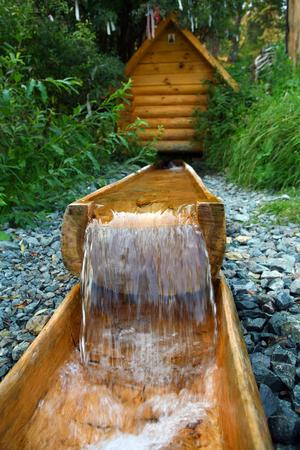 Sacred Source Healer Panteleimon Maly Bor near Elabuga summer Stock Photo - 27885197