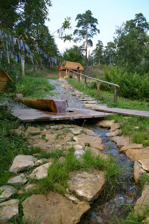 Sacred Source Healer Panteleimon Maly Bor near Elabuga summer Stock Photo - 28567302