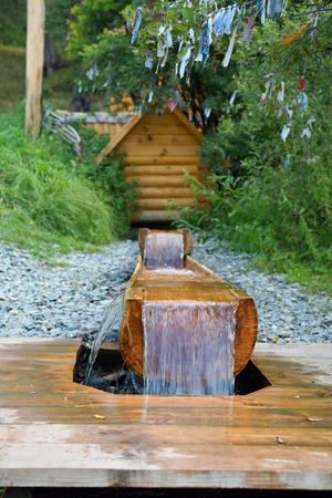 Sacred Source Healer Panteleimon Maly Bor near Elabuga summer Stock Photo - 28773048