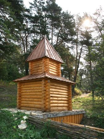 Sacred Source Healer Panteleimon Maly Bor near Elabuga summer Stock Photo - 29081499