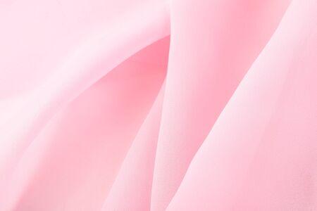 macro textuur fragment van weefsel lichtroze
