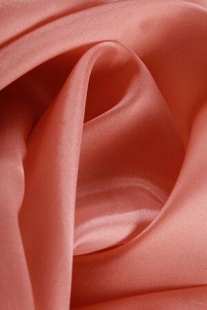 pink satin: macro texture of pale pink satin studio Stock Photo