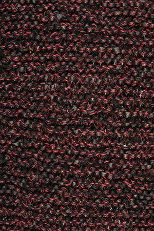 macro texture: macro texture of burgundy knitted fabric studio