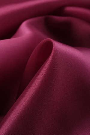 fuchsia: macro texture of satin fabric fuchsia color studio Stock Photo
