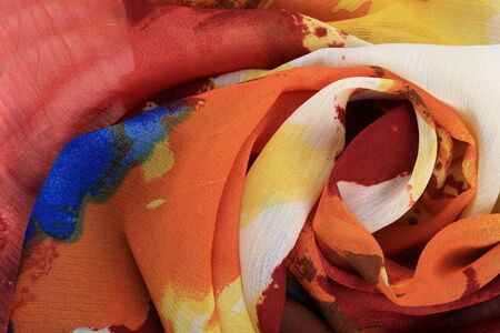 escarapelas: macro colorido estudio rosetas gasa plegada
