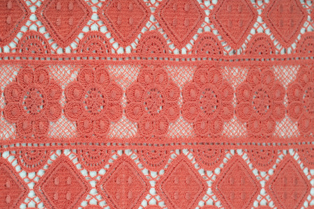 holey: close-up fragment texture lace coral studio