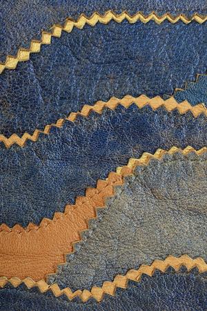 macro texture fragment colored leather studio photo