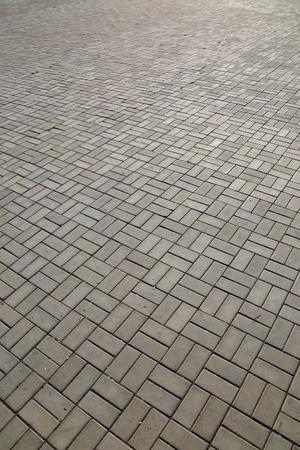 closeup background texture of paving sidewalk