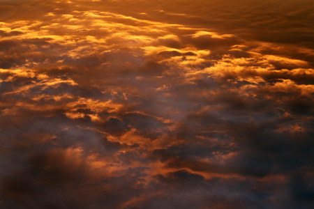 Very beautiful clouds and a ray of light Stockfoto