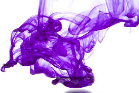 vortices: ink cloud Stock Photo