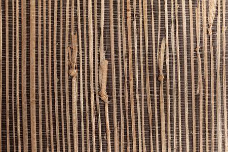 natural materials: wicker environmental wallpaper from natural materials