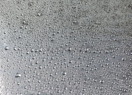 condensacion: textura es gotas de lluvia sobre la superficie de