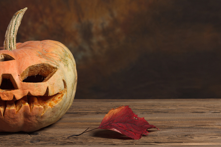 ハロウィーン カボチャ、怖いハロウィーンのカボチャ、ハロウィーンのテーマ