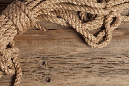 bateau voile: reines corde corde avec une belle texture Banque d'images