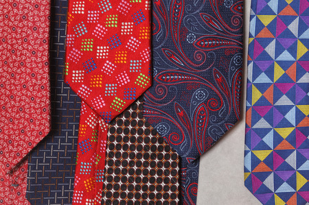 Tie a variety of colors and color