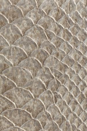 革の質感、蛇肌の質感