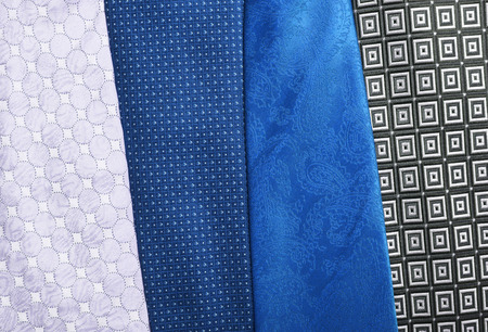 collection of neck ties close up Stok Fotoğraf - 58741673