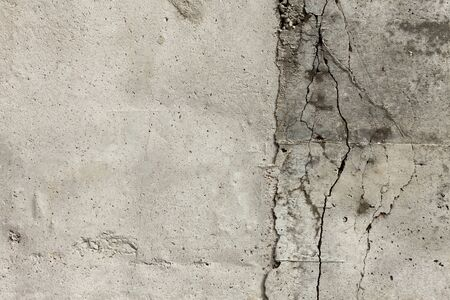 Cool-background texture of gray design concrete with cracks