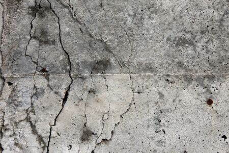 Cool-background texture of dramatic concrete with cracks