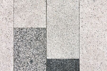 The texture of the sidewalk stone pavers for concrete from stone chips.