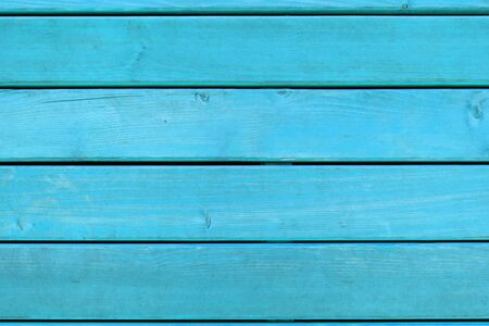 Background-texture: horizontal flooring of boards in bright blue Foto de archivo