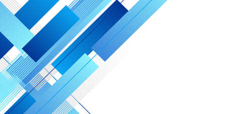 Abstract minimal blue background with geometric creative and minimal gradient concepts, for posters, banners, landing page concept image